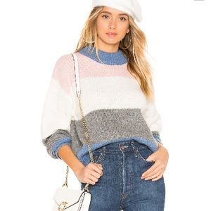 Rebecca Minkoff Color-Blocked Kendall Sweater